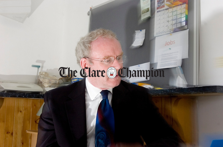Martin McGuinness Scarriff Waterways Ireland