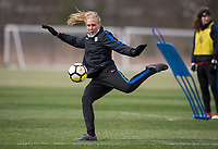 Harrison, NJ - March 3, 2018: The USWNT trains in preparation for the second match of the SheBelieves Cup at RedBull Arena.