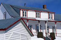 Amérique/Amérique du Nord/Canada/Quebec/Saint-Irénée : Détail habitat
