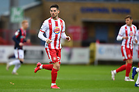 Tom Pett of Stevenage FC during Stevenage vs Bolton Wanderers, Sky Bet EFL League 2 Football at the Lamex Stadium on 21st November 2020