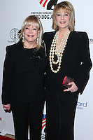 BEVERLY HILLS, CA, USA - SEPTEMBER 27: Candy Spelling, Cristina Ferrare arrive at the 4th Annual American Humane Association Hero Dog Awards held at the Beverly Hilton Hotel on September 27, 2014 in Beverly Hills, California, United States. (Photo by Xavier Collin/Celebrity Monitor)