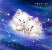 Kayomi, CUTE ANIMALS, paintings, GalaxyDream_M, USKH65,#AC# illustrations, pinturas ,everyday