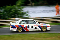 Round 9 of the 1991 British Touring Car Championship. #44 Steve Soper (GB). BMW Team Finance. BMW M3.