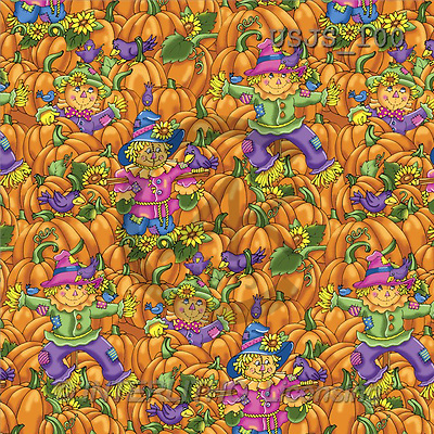 Janet, GIFT WRAPS, paintings, Scarecrow Pattern(USJS100,#GP#) everyday