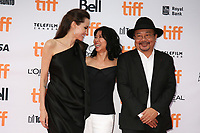 DIRECTOR ANGELINA JOLIE, WRITER LOUNG UNG AND RITHY PANH - RED CARPET OF THE FILM 'FIRST THEY KILLED MY FATHER' - 42ND TORONTO INTERNATIONAL FILM FESTIVAL 2017