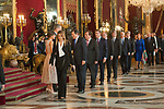 Susana Diaz attends to Sapnish National Day palace reception at the Royal Palace in Madrid, Spain. October 12, 2018. (ALTERPHOTOS/A. Perez Meca)