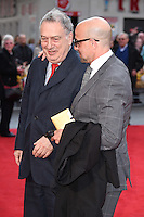 """Stephen Frears and Stanley Tucci<br /> arrives for the """"Florence Foster Jenkins"""" European premiere at the Odeon Leicester Square, London<br /> <br /> <br /> ©Ash Knotek  D3106 12/04/2016"""