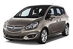 2014 Opel MERIVA Cosmo 5 Door Mini MPV 2WD Angular Front stock photos of front three quarter view