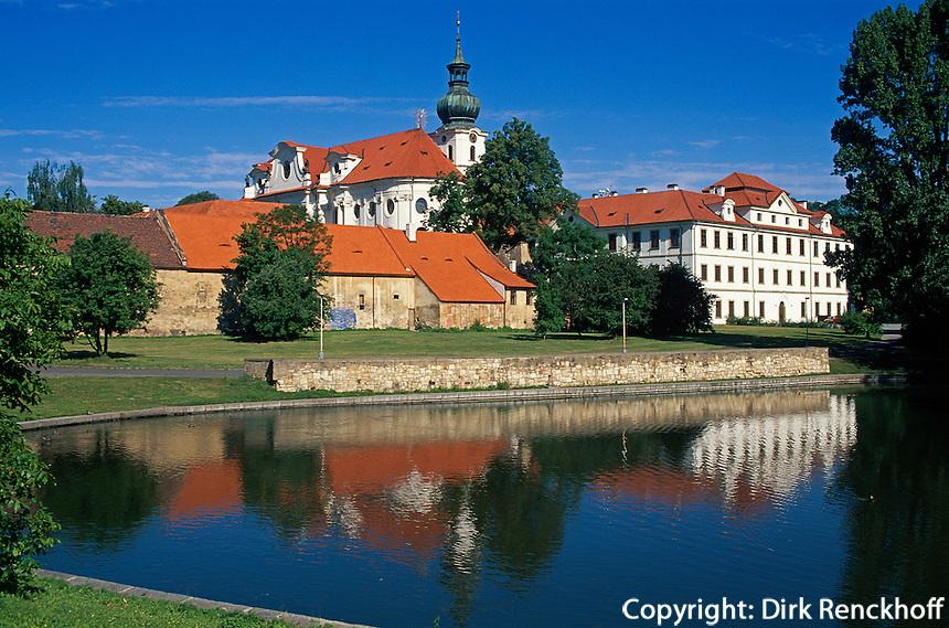 Kloster Brevnov, Prag, Tschechien, Unesco-Weltkulturerbe