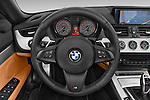 Car pictures of steering wheel view of a 2014 BMW Z4 sDrive35i Lounge 2 Door Convertible 2WD Steering Wheel