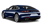 Car pictures of rear three quarter view of a 2018 Porsche Panamera 4S 5 Door Hatchback angular rear