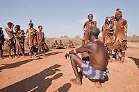 hamer people in Ethiopia Omo valley