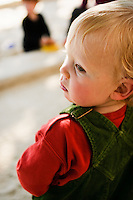 Portrait of a young boy.