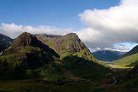 The Three Sisters of Glencoe from Am Bodach, Highland<br /> <br /> Copyright www.scottishhorizons.co.uk/Keith Fergus 2011 All Rights Reserved