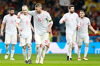 Spain's Andres Iniesta (l) and Sergio Ramos during international friendly match. March 27,2018.(ALTERPHOTOS/Acero) /NortePhoto.com NORTEPHOTOMEXICO