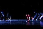 Sicéfou..chorégraphie : Jean-Christophe Bleton..lumières : Frédéric Dugied..composition sonore : Hélène Coeur..accessoires : Olivier Defrocourt..costumes : Hélène Lepetit..avec : ..Nikola Müller, Marina Ligeron, Cyrille Bochew, Jean-Philippe Costes-Muscat..Lieu : Espace Charles Vanel..Ville : Lagny sur Marne..Le : 29 01 2009..© Laurent Paillier / www.photosdedanse.com..All rights reserved