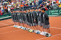 14-09-12, Netherlands, Amsterdam, Tennis, Daviscup Netherlands-Swiss,  Ballkids