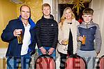 Malachy, Joey, Eileen and Barry Nagle enjoying the festive season, in the Brogue Inn.