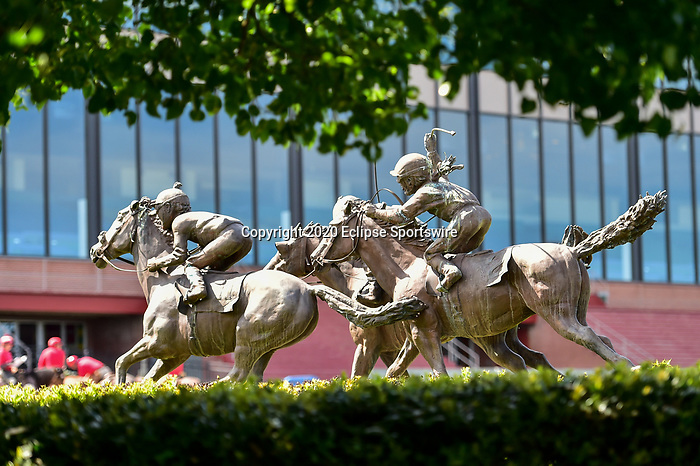 April 18, 2020:  Count Fleet Sprint Handicap race at Oaklawn Racing Casino Resort  on April 18, 2020 in Hot Springs, Arkansas. (Photo by Ted McClenning/Eclipse Sportswire/Cal Sport Media)