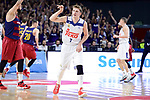 Real Madrid's Luka Doncic during Liga Endesa match between Real Madrid and FC Barcelona Lassa at Wizink Center in Madrid, Spain. March 12, 2017. (ALTERPHOTOS/BorjaB.Hojas)