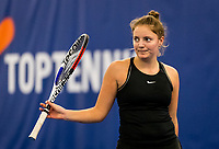 Amstelveen, Netherlands, 14  December, 2020, National Tennis Center, NTC, NK Indoor, National  Indoor Tennis Championships, Qualifying:  Madelief Hageman (NED) <br /> Photo: Henk Koster/tennisimages.com