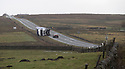 23/02/17<br /> <br /> Three high-sided lorries are blown off the A53 near Flash with half a mile of each other as Storm Doris continues to batter the Staffordshire Moorlands area of the Peak District. It is unknown if there were any injuries.<br /> <br /> All Rights Reserved F Stop Press Ltd. (0)1773 550665 www.fstoppress.com