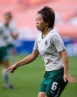 Aya Miyama.   The Washington Freedom defeated the Saint Louis Athletica, 3-1.