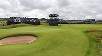 180719 | The 148th Open - Day 1<br /> <br /> The 17th and 13th greens during the 148th Open Championship at Royal Portrush Golf Club, County Antrim, Northern Ireland. Photo by John Dickson - DICKSONDIGITAL