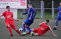 Büttelborn ließ Nauheim nicht ins SPiel kommen - Büttelborn 03.11.2019: SKV Büttelborn vs. SV 07 Nauheim, Gruppenliga Darmstadt