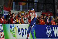 SPEEDSKATING: ERFURT: 19-01-2018, ISU World Cup, 500m Men A Division, Pavel Kulizhnikov (RUS), photo: Martin de Jong