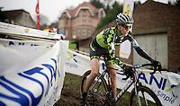 Christine 'Peanut' Vardaros (USA/Stevens)<br /> <br /> Druivencross Overijse 2014