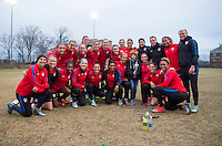 Washington, DC - March 6, 2017: The USWNT trains in preparation for the SheBelieves Cup.