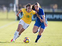 Lakewood Ranch, FL - December 7, 2017: The U20 Brazil defeated Finland, 4-0, during the Nike International Friendlies at Premier Sports Campus.