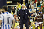 Pescara's coach Fulvio Colini during UEFA Futsal Cup 2015/2016 Semifinal match. April 22,2016. (ALTERPHOTOS/Acero)