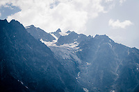 view from the Col de l'Izoard (HC/2354m/14.2km@7%)<br /> <br /> Stage 18: Embrun to Valloire(208km)<br /> 106th Tour de France 2019 (2.UWT)<br /> <br /> ©kramon