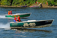 "JS-20, (Jersey Speed Skiff) and JS-77 ""Zippy Pickle"", (Jersey Speed Skiff)"