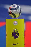 The match ball during the Premier League behind closed doors match between Crystal Palace and Fulham at Selhurst Park, London, England on 28 February 2021. Photo by Vince Mignott / PRiME Media Images.