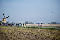 early break attempt in the race<br /> <br /> 50th Amstel Gold Race 2015