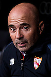 Coach Jorge Luis Sampaoli of Sevilla FC prior to the Copa del Rey Round of 16 match between Real Madrid and Sevilla FC at the Santiago Bernabeu Stadium on 04 January 2017 in Madrid, Spain. Photo by Diego Gonzalez Souto / Power Sport Images