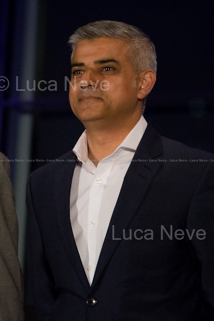 """Sadiq Khan MP (Labour Party new Mayor of London).<br /> <br /> London, 06-07/05/2016. The morning after the London Mayoral Election, press began to congregate on the ninth floor of City Hall to report on the results and the official announcement of the new Mayor of London. At 15:21, the press team of City Hall announced the results by constituency. At just gone 17:30, the press videographers and photographers were escorted downstairs to the Chamber (second floor) to wait for the official final announcement. The press waited, however, almost five hours for this to happen. At 22:11, the Greater London Returning Officer, Jeff Jacobs, approached the stage and presented the new Greater London Assembly members. And, finally, at 12:18 on the 7th of May (just under nine hours after the first City Hall press announcement), Mr Jacobs officially announced the new Mayor of London, Sadiq Khan for the Labour Party. An official statement (that you can find at https://londonelects.org.uk/news-centre/news-listing/election-count-delay-explained and in the PDF attached to this story) was released on the 7th of May to explain the delay - which was previously described as being due to """"minor discrepancies in Mayoral figures"""". <br /> For more information, official statements, the results of the Mayoral Election and links for the London Assembly Members Election Results please find the PDF attached at the beginning of the story.<br />    <br /> London Mayoral Election 2016 Results:<br /> (Sources London Elects & Wikipedia)<br /> https://www.londonelects.org.uk/sites/default/files/Part%201%20Election%20of%20the%20London%20Mayor.pdf <br /> https://en.wikipedia.org/wiki/London_mayoral_election,_2016<br /> <br /> London Assembly Members Election 2016 Results:<br /> (Sources London Elects & Wikipedia)<br /> https://www.londonelects.org.uk/sites/default/files/London-wide%20Assembly%20Member%20results%202016.pdf<br /> https://en.wikipedia.org/wiki/London_Assembly_election,_2016"""