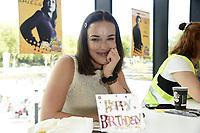 Elizabeth Henstridge at German Comic Con Dortmund Limited Edition, Dortmund, Germany - 11 Sep 2021 ***FOR USA ONLY** Credit: Action Press/MediaPunch