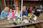 Enjoying the evening in Molly J's on Friday, l to r: Mary and Lucy Heffernan, Sarah, Lee and PJ O'Donnell.