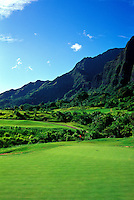 Koolau golf course number 11 designed by Dick Nugent & Jack Tuthill, Oahu