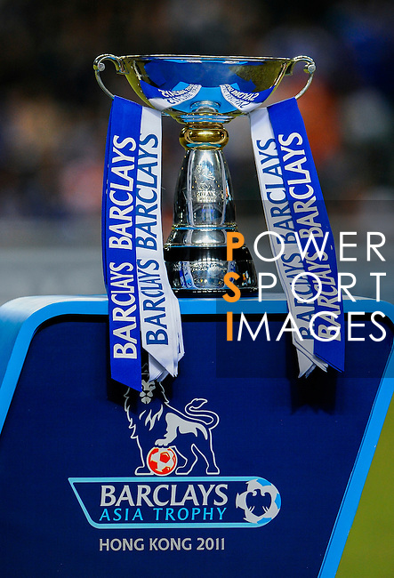 Asia Trophy is displayed before the winner ceremony at the end of the final match against Chelsea and Aston Villa at the Hong Kong Stadium on July 30, 2011 in So Kon Po, Hong Kong. Photo by Victor Fraile / The Power of Sport Images