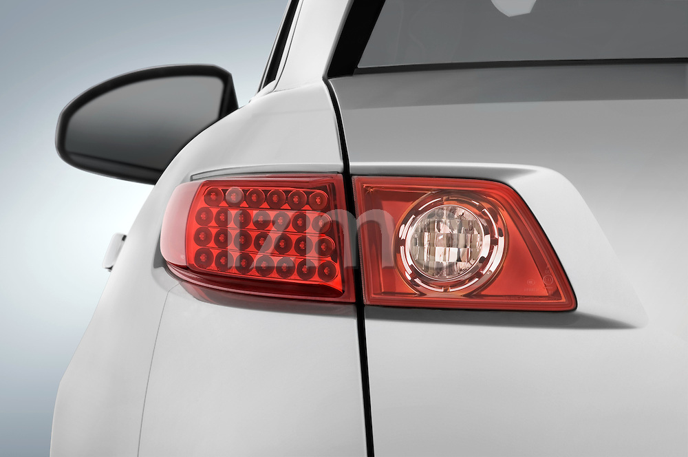 Tail light detail of a 2008 Infiniti FX35 SUV