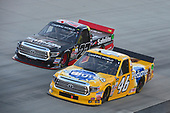 NASCAR Camping World Truck Series<br /> Bar Harbor 200<br /> Dover International Speedway, Dover, DE USA<br /> Friday 2 June 2017<br /> Todd Gilliland, Pedigree Toyota Tundra, Ben Rhodes, Safelite Auto Glass Toyota Tundra<br /> World Copyright: John K Harrelson<br /> LAT Images<br /> ref: Digital Image 17DOV1jh_03462