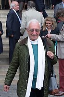 Alain Maillard de La Morandais - Hommage à Gonzague Saint Bris en l'église Saint-Sulpice à Paris, France - 28/9/2017