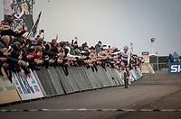 CX World Champion Mathieu van der Poel (NED/Corendon-Circus) wins his 7th of 7 races so far this season... <br /> <br /> Elite Men's Race<br /> UCI cyclocross WorldCup - Koksijde (Belgium)<br /> <br /> ©kramon