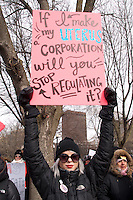 Rally to support funding for planned parenthood at Boston Common Boston MA 3.4.17