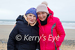 Enjoying a Mothers Day stroll in Banna beach on Sunday, l to r: Margaret and Catriona Donovan.